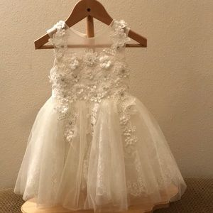Other - Off white flower girl dress